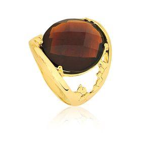 joias-conjunto-semi-joia-anel-e-brinco-banhado-ouro-18k-cristal-marrom-2