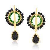 joias-brinco-semi-joia-banhado-ouro-18k-com-pedra-preta-e-verde