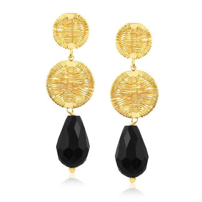 joias-brinco-aramado-semi-joia-banhado-ouro-18k-com-pedra-preta
