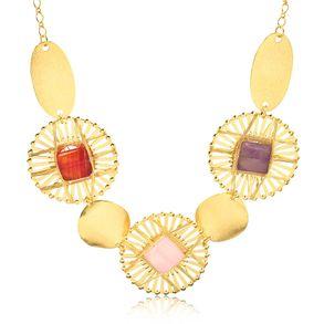 joias-max-colar-banhado-ouro-18k-com-pedras-laranja-rosa-lilas