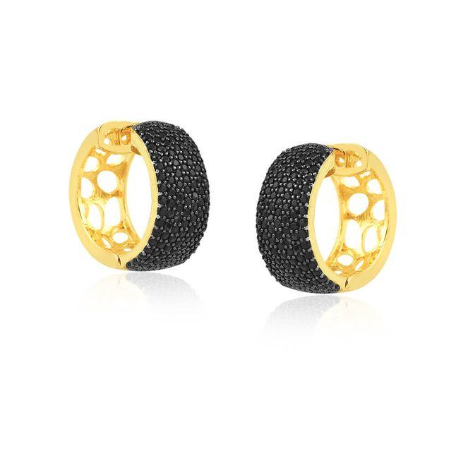 joias-brinco-semi-joia-argola-banhado-ouro-18k-com-zirconias-black