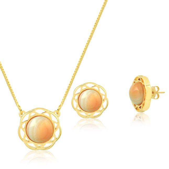 joias-conjunto-semi-joia-banhado-ouro-18k-pedra-agata