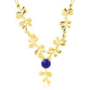 joias-max-colar-semi-joia-banhado-ouro-18k-com-folhas-e-pedra-azul
