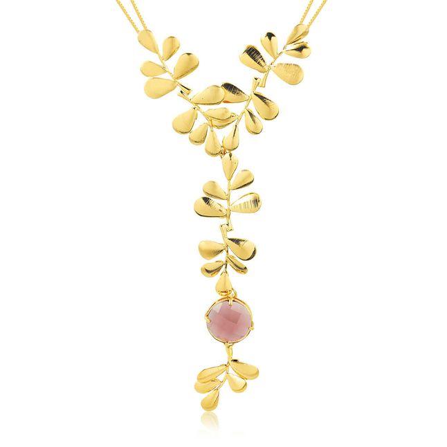 joias-max-colar-semi-joia-banhado-ouro-18k-com-folhas-e-pedra-lilas