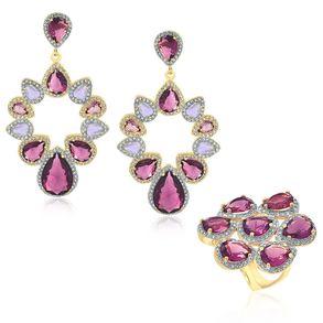 joias-conjunto-semi-joia-anel-e-brinco-banhado-ouro-18k-cristal-roxo-com-zirconias