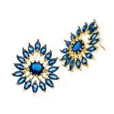 joias-brinco-semi-joia-gota-com-zirconias-navetes-azul-marinho