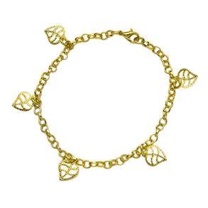 pulseira-com-pingentes-de-folhas-banhado-em-ouro-18k
