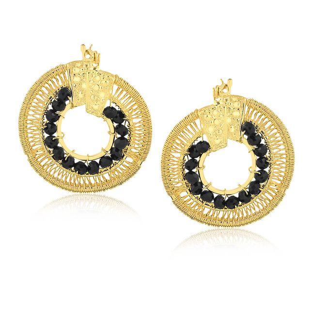 joias-brinco-argola-semi-joia-banhada-ouro18k-com-cristal-preto
