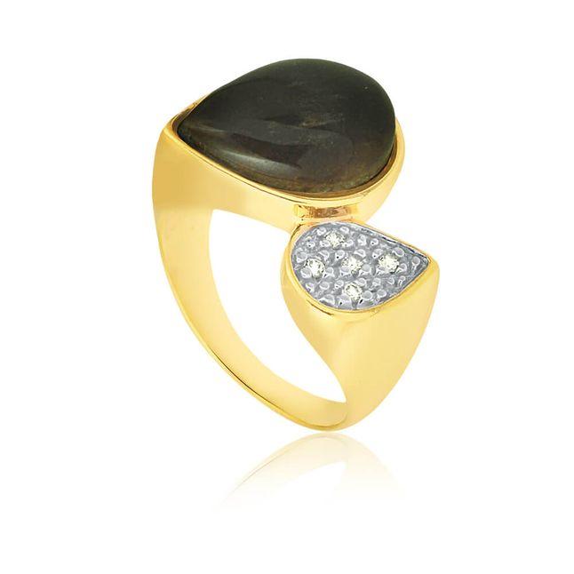 joias-anel-semi-joia-gota-banhado-ouro-18k-com-zirconias-e-pedra-marrom-