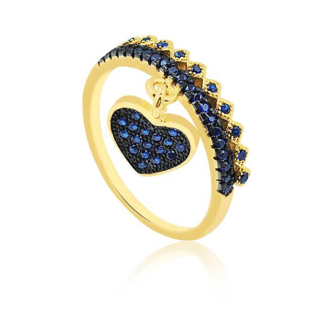 joias-anel-semi-joia-pingente-coracao-banhado-ouro-18k-com-micro-zirconias-azul