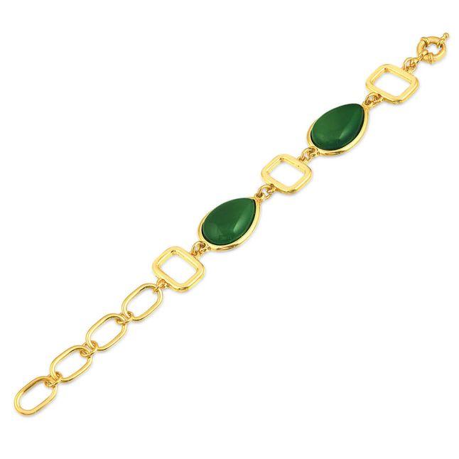 joias-pulseira-semi-joia-pedra-verde-banhado-ouro-18k