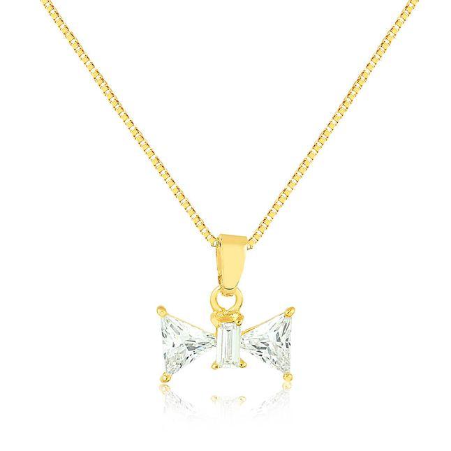 joias-colar-semi-joia-banhado-ouro-18k-pingente-laco-com-zirconia-cristal