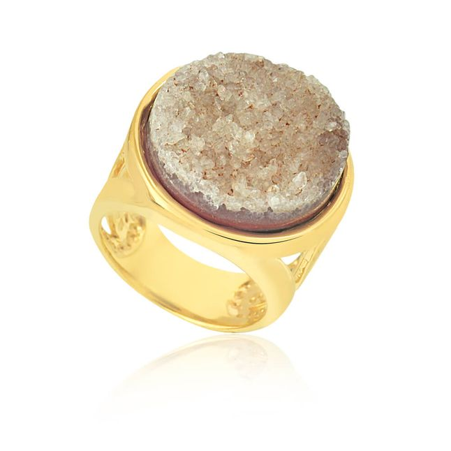 joias-anel-semi-joia-banhado-ouro-18k-com-pedra-drusa-bege