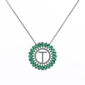 mandala-letra-T-com-zirconias-cristal-e-navetes-verde