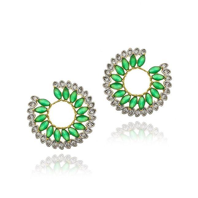 joias-brinco-semi-joia-redondo-com-navetes-verde-e-zirconias-cristal