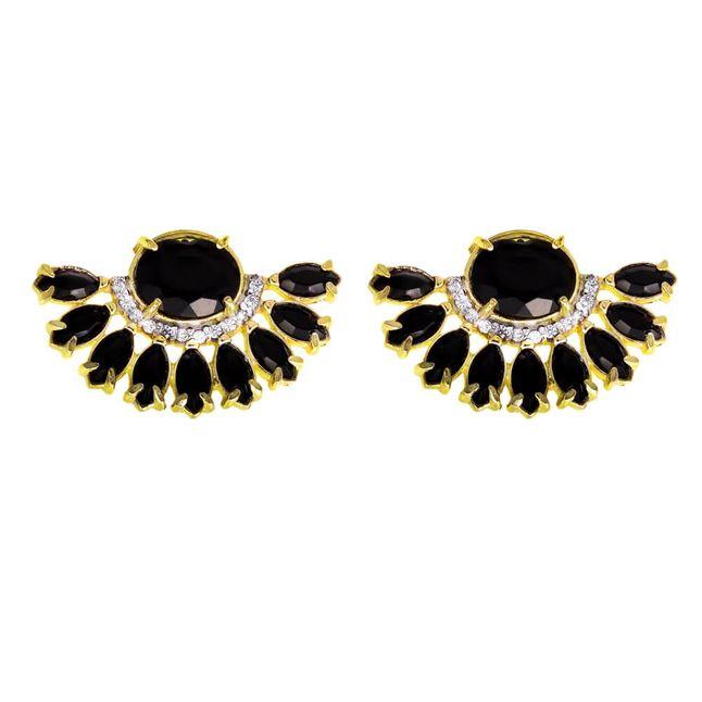 brinco-leque-com-navetes-pretas-e-zirconias-cristal-banhado-em-ouro-18k