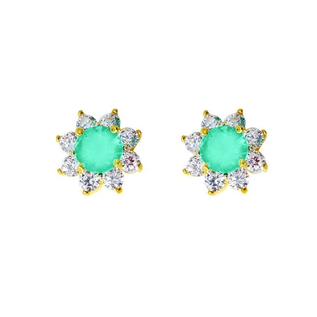 brinco-flor-com-zirconias-verde-fosco-e-cristal-banhado-em-ouro-18k