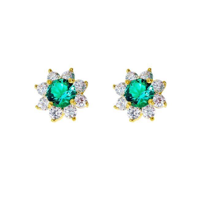 brinco-flor-com-zirconias-verde-e-cristal-banhado-em-ouro-18k