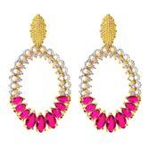 brinco-gota-com-zirconias-cristal-e-navetes-pink-banhado-em-ouro-18k