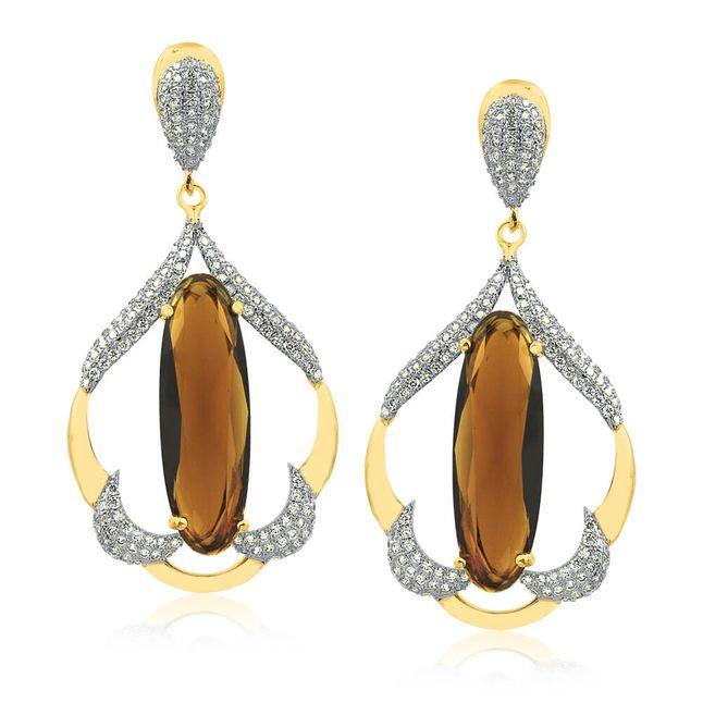 joias-semi-joia-brinco-banhado-ouro-18k-cristal-marrom-com-zirconias