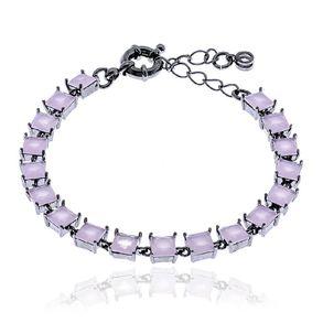 pulseira-riviera-glamour-com-zirconias-navetes-rosa-banhado-em-rodio-negro