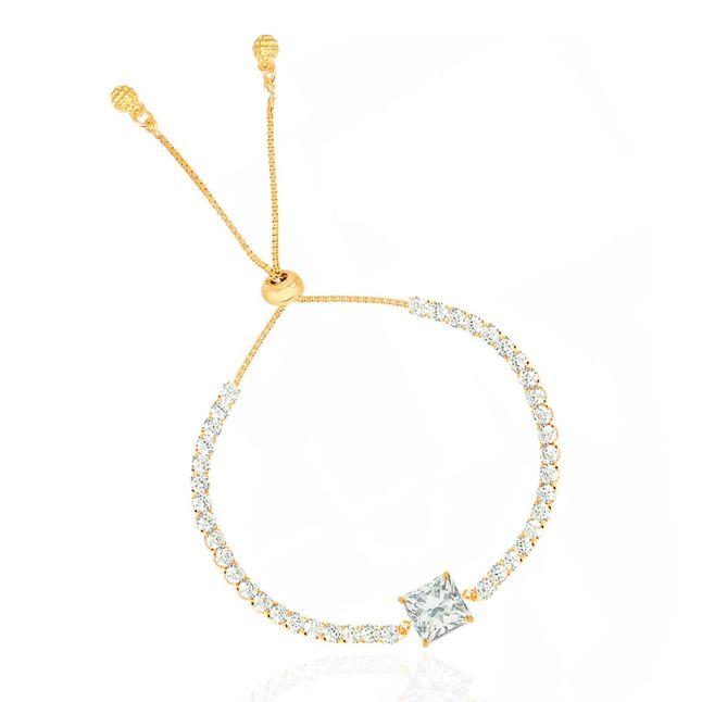 pulseira-regulavel-com-zirconia-quadrada-no-centro-e-cristais-ao-redor-banhado-em-ouro-18k