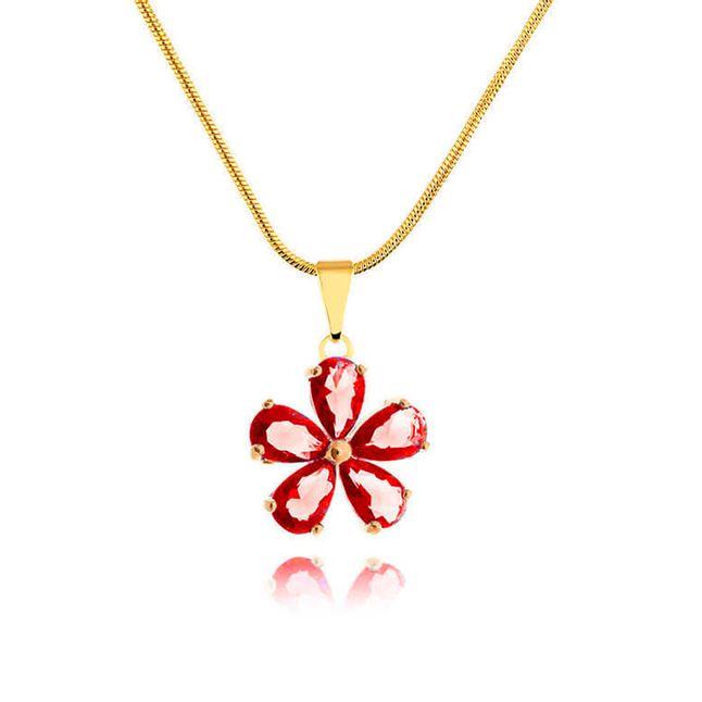 colar-flor-com-zirconias-vermelhas-banhado-em-ouro-18k