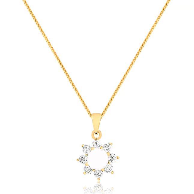 colar-flor-com-pedra-no-centro-branca-e-zirconias-cristal-ao-redor-banhado-em-ouro-18k