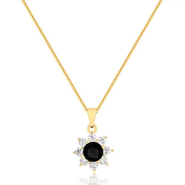colar-flor-com-pedra-no-centro-preta-e-zirconias-cristal-ao-redor-banhado-em-ouro-18k