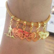 pulseira-feminina-personalizada-com-pingentes-de-academia-banhado-em-ouro-18k