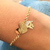 pulseira-coracao-personalizado-com-pingente-de-menino-banhado-em-ouro-18k
