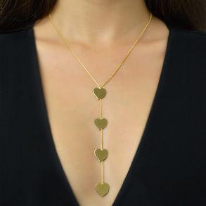 joias-colar-semijoia-gravatinha-com-4-coracoes-banhado-em-ouro-18k