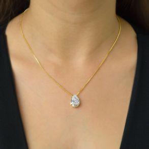 colar-gota-cristal-banhado-em-ouro-18k