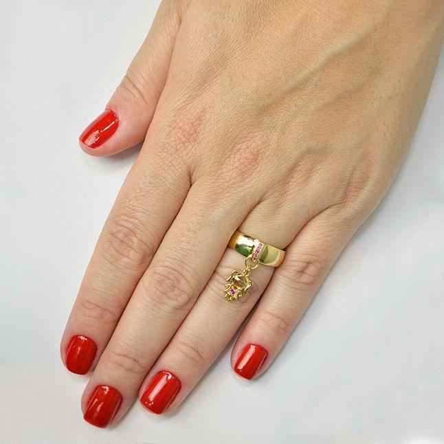 anel-pingente-menina-cravejado-com-zirconias-rubi-banhado-em-ouro-18k