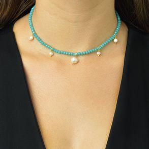 choker-cristais-azul-turquesa-com-pingente-perolas-de-agua-doce