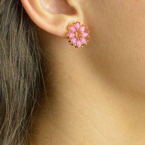 conjunto-flor-com-zirconias-navetes-pink-banhado-em-ouro-18k-2
