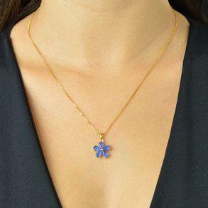 conjunto-flor-com-zirconias-cristal-azul-banhado-em-ouro-18k