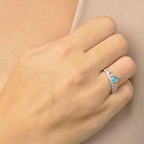 anel-modelo-coroa-com-gotinha-de-zirconia-fusion-azul-banhado-em-rodio