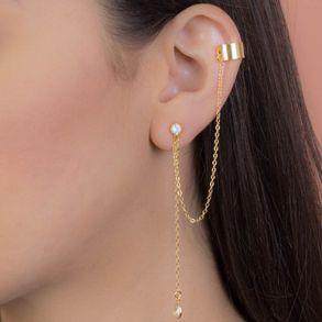 brinco-corrente-com-pingente-cristal-e-pircieng-banhado-em-ouro-18k