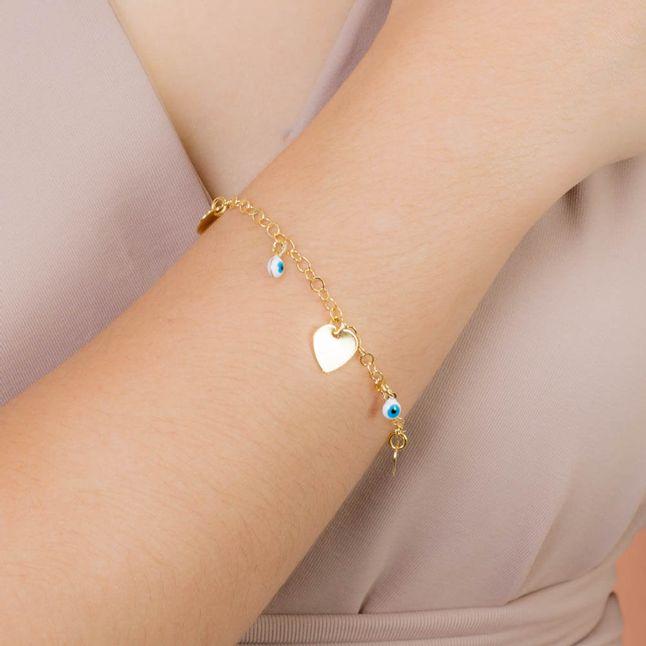 pulseira-com-pingentes-coracao-e-olho-grego-banhado-a-ouro-18k