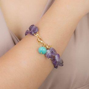 pulseira-dupla-com-pedras-ametista-e-pingente-turquesa-banhado-em-ouro-18k