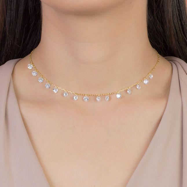 colar-gargantilha-com-pingentes-cristais-banhado-em-ouro-18k