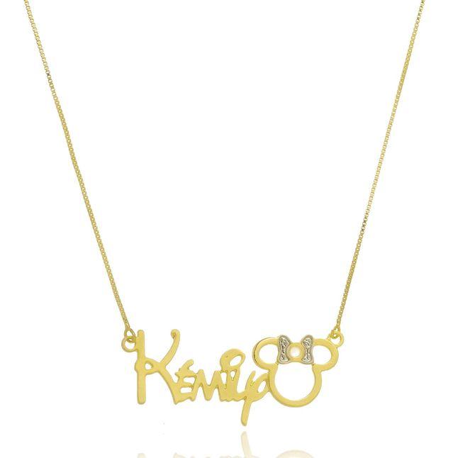 colar-personalizado-com-nome-e-pingente-de-miney-banhado-em-ouro-18k