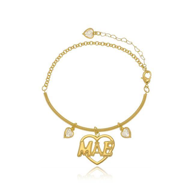 pulseira-personalizada-com-pingentes-de-coracao-escrito-mae-banhado-em-ouro-18k