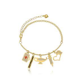 pulseira-personalizada-com-5-pingentes-de-profissao-banhado-em-ouro-18k