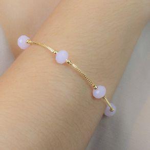 pulseira-com-pingentes-de-cristal-rosa-banhado-em-ouro-18k