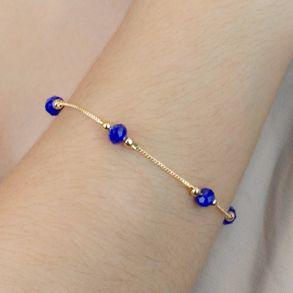 pulseira-com-bolinhas-e-micangas-azul-petroleo-banhado-em-ouro-18k