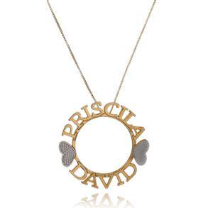 colar-mandala-simples-personalizada-com-dois-nomes--em-banho-de-ouro-18k