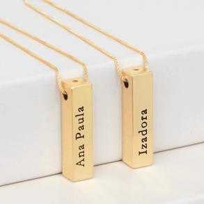 colar-personalizado-barra-3D-com-nome-em-banho-de-ouro-18k