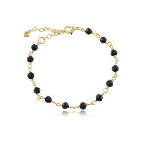 pulseira-com-12-cristais-black-banhado-em-ouro-18k